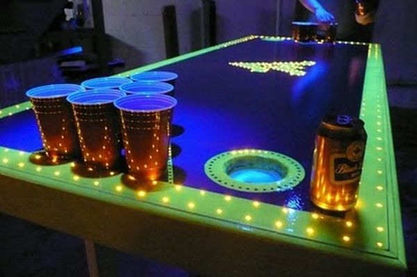 How to make a beer pong table