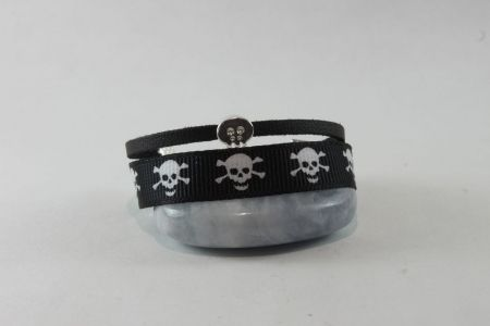 #Bracelet #garçon pirate noir