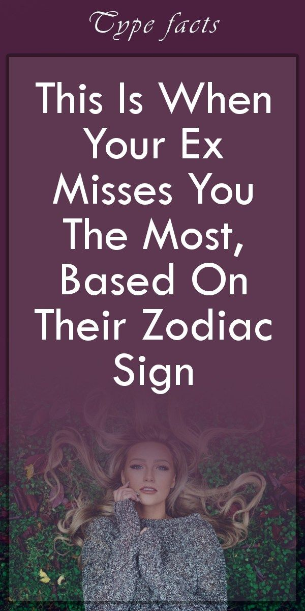 signs ex misses you