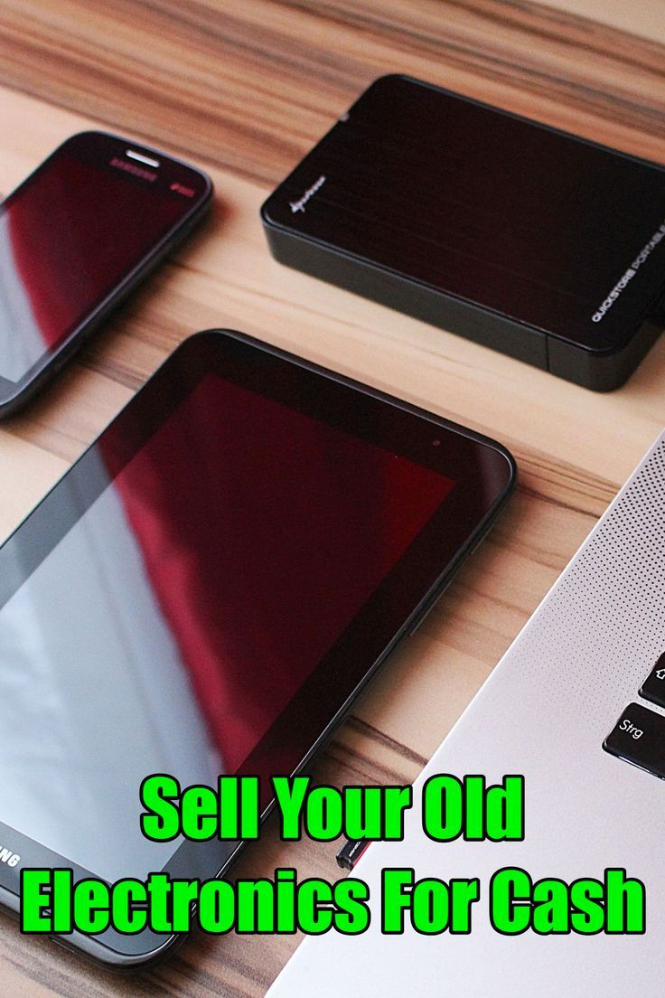 Your Old Electronics For Cash Makemoney Easycash Iphone Techgadgets Cellphone
