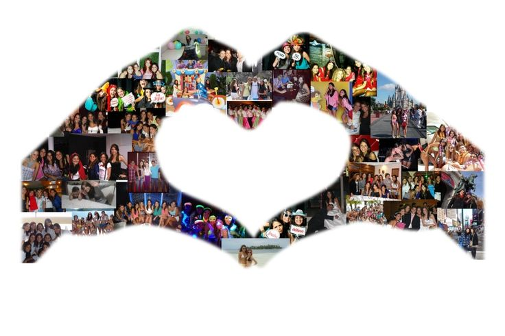 Marggie's Hands Heart Photo Collage from Collage. com