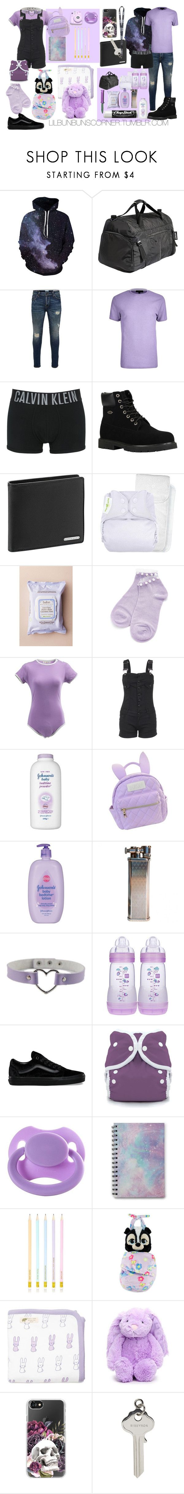"""purple daddy & purple baby"" by ittybittybunbun ❤ liked on Polyvore featuring Tucano, Only & Sons, River Island, Calvin Klein Underwear, Lugz, Porsche Design, Babo Botanicals, Chapstick, Equipment and cutekawaii"