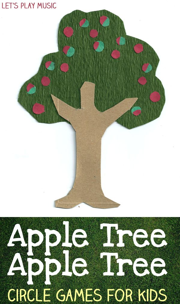 Let's Play Music : Apple Tree Apple Tree - Circle Game. This could be a good way to slowly dismiss children from morning meeting.
