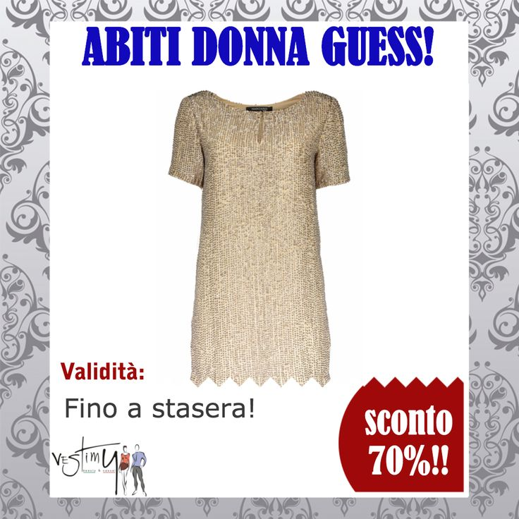 Abito Donna Guess Marciano a €123.99 invece di 410 €!!