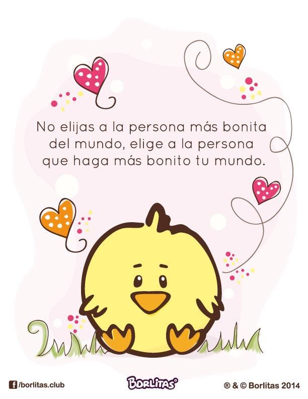 Borlitas Frases Bonitas | All about loving each other