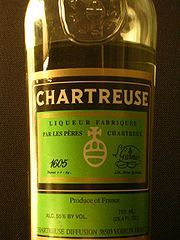 Chartreuse.  Looks interesting and I've seen several recipes for mezcal cocktails that include this.