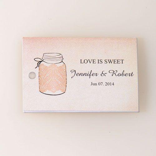 love is sweet rustic vintage wedding gift label EWFR028 as low as $0.22