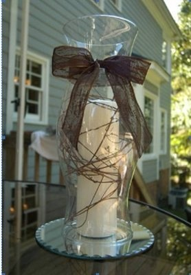 Hurricane Centerpieces For Weddings | Revision of centerpieces - PICS | Weddings, | Wedding Forums ...