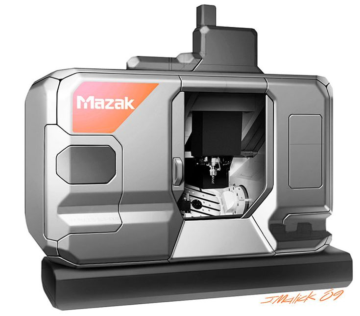 HOME > DESIGN CONSULTING >  WORKS > YAMAZAKI MAZAK CNC Machinesヤマザキマザック CNC...