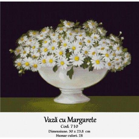 Model goblen Vaza cu margarete http://set-goblen.ro/flori/3972-vaza-cu-margarete.html