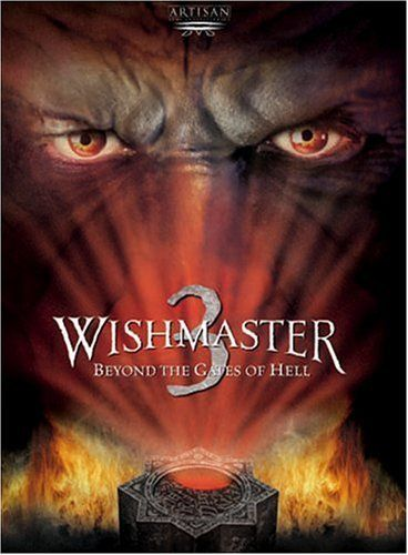 Horror goes to extremes with Wishmaster 3: Beyond the Gates of Hell, the goriest installment of the hit franchise yet. When Diana, a beautiful coed, discovers an ancient gem. Buy the DVD today on sale for $6.54 http://www.discounthorrormovies.com/wishmaster-3-beyond-the-gates-of-hell/