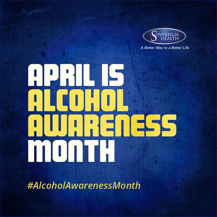 Sovereign Health Group Recognizes Alcohol Awareness Month. It's time to #SayNoToAlcohol #AlcoholAwarenessMonth