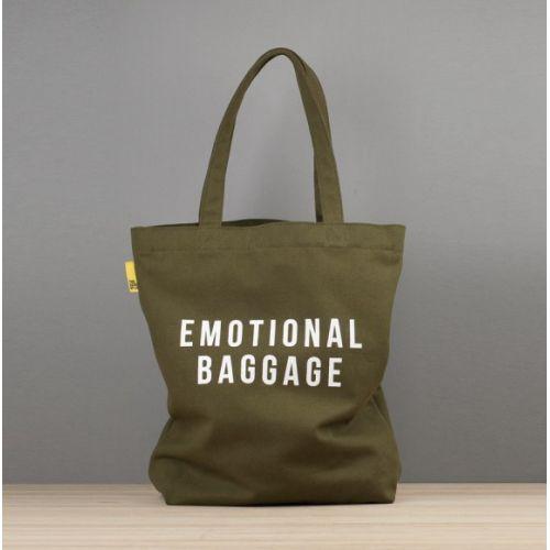 #Tote #bag imprimé Emotional baggage Prix 45 euros TTC