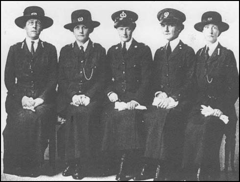 Women Police Volunteers (WPV)  In 1914 the Headmistresses' Association suggested the formation of a female police force to control th