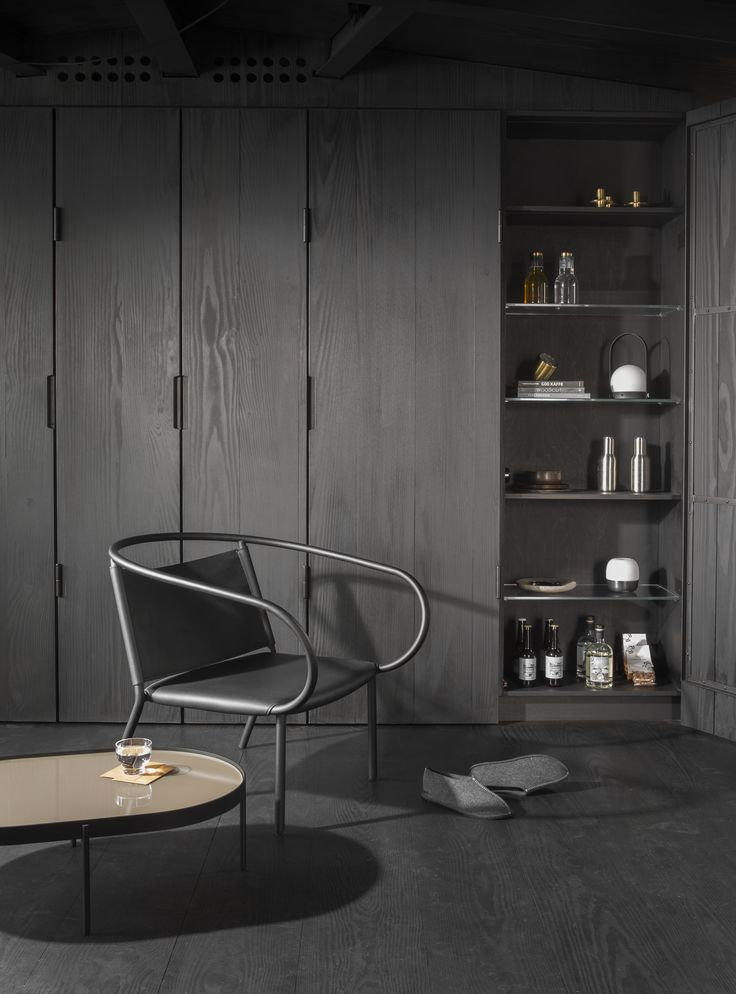 MENU | NoNo Table, Afteroom Lounge Chair