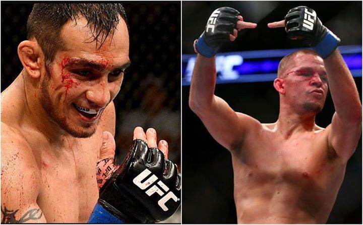 """Tony Ferguson on Nate Diaz (transcribed by @punditarena.com): """"I'm down for the battle of California. He wants to represent [area code] 209, I'm from 805. I think obviously my hands are a lot better. I think this game is about the glory, not all about the money. Obviously you have to make your peace in this industry, but sh*t Nate, if you don't want to fight man, move on, retire. Go do something else man, cause we're here to fight in this industry. But everyone else is taken, so yeah, Nate…"""