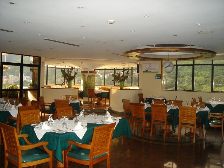 Restaurante Galipán, excelente gastronomía con vista a la montaña.