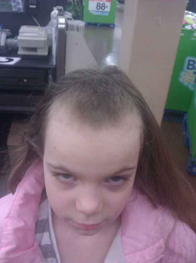 Best Messed Up Haircuts Images On Pinterest Big Hair Braid - 27 hilarious kid haircuts fails