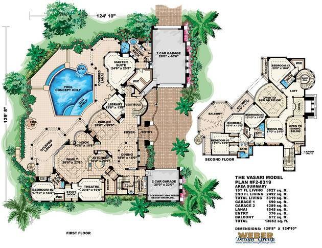 27 best monster house plans images on pinterest dream for Monster house floor plans
