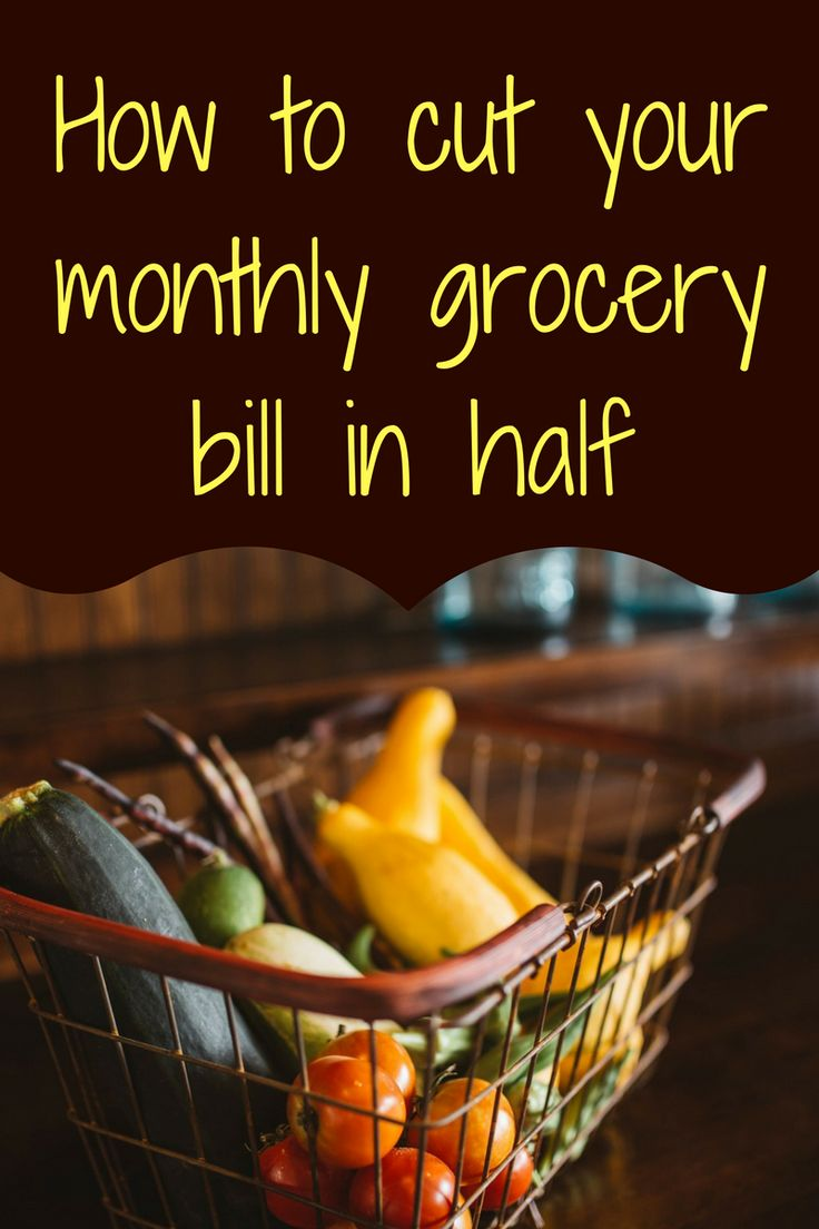 Our grocery bill was between $600 and $700 a month when I decided to tackle it, but now every month I spend $300-350 and can barely remember how I ever spent that much money on groceries. Groceries are a good thing to cut back