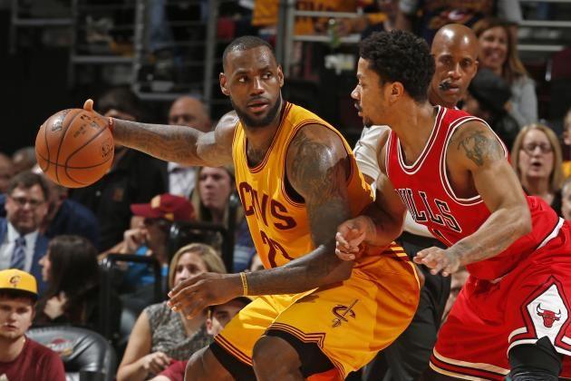 Critical Bulls-Cavs Game 6 Comes Back to Derrick Rose vs. LeBron James