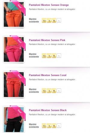 O noua colectie de pantaloni Mexton lansata azi!