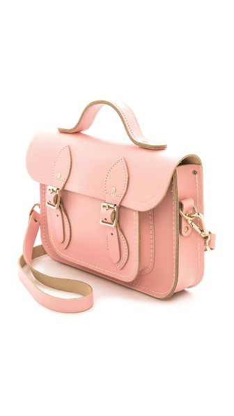 Cambridge Satchel 11'' Satchel with Top Handle.