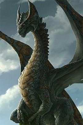 Los dragones...un animal mitológico, bellos he inteligentes.