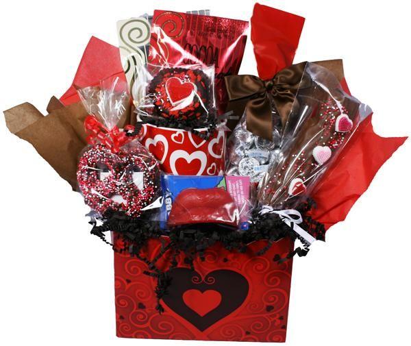 valentine day basket. chocolate dreams - valentineu0027s day gift, Ideas