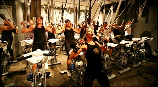This celebrity endorsed spin studio has made it's way west from NYC and makes Los Angeles devotee's sweat at three city wide location. Soul cycle is your own work out but you feed off of the energy in the room, and the atmosphere that in enhanced by inspirational quotes on the wall and even candlelight. http://www.soul-cycle.com/soul-west/