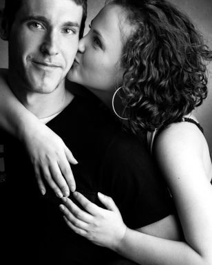 I love this photo by Clifton Photographic Company  http://www.cliftonphoto.co.uk/family-portrait-photography/studio-gallery/adults-couples-photos: