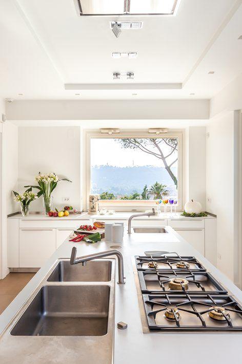 Cucina con vista su Roma | Edi Solari | Kitchen | Pinterest | Cucina ...