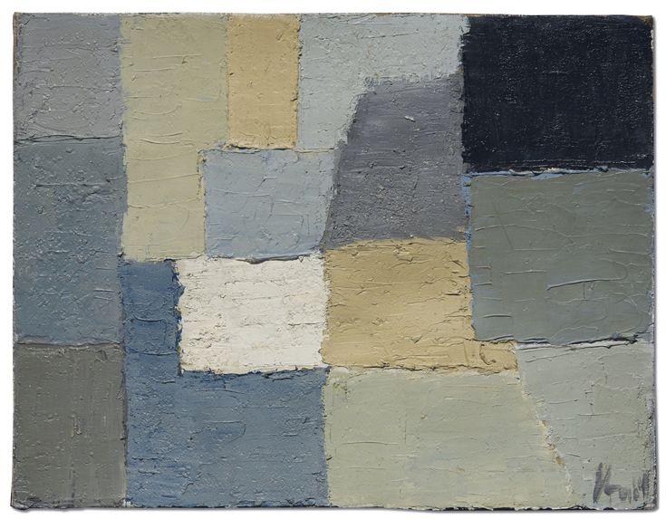 Nicolas de Staël (1914-1955) | Composition | 1950s, Paintings | Christie's