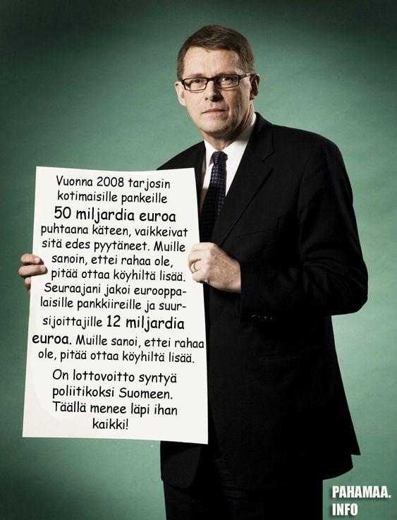 Paha maa - Huomioita nykypäivän Suomesta - Lainattua