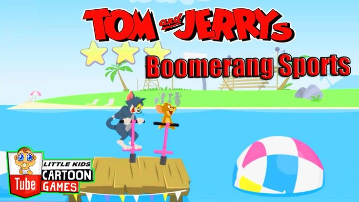 Fun Games. Tom and Jerry - Boomerang Sports. Tom and Jerry 2017 Games. B...