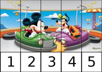 Mickey y Goofy
