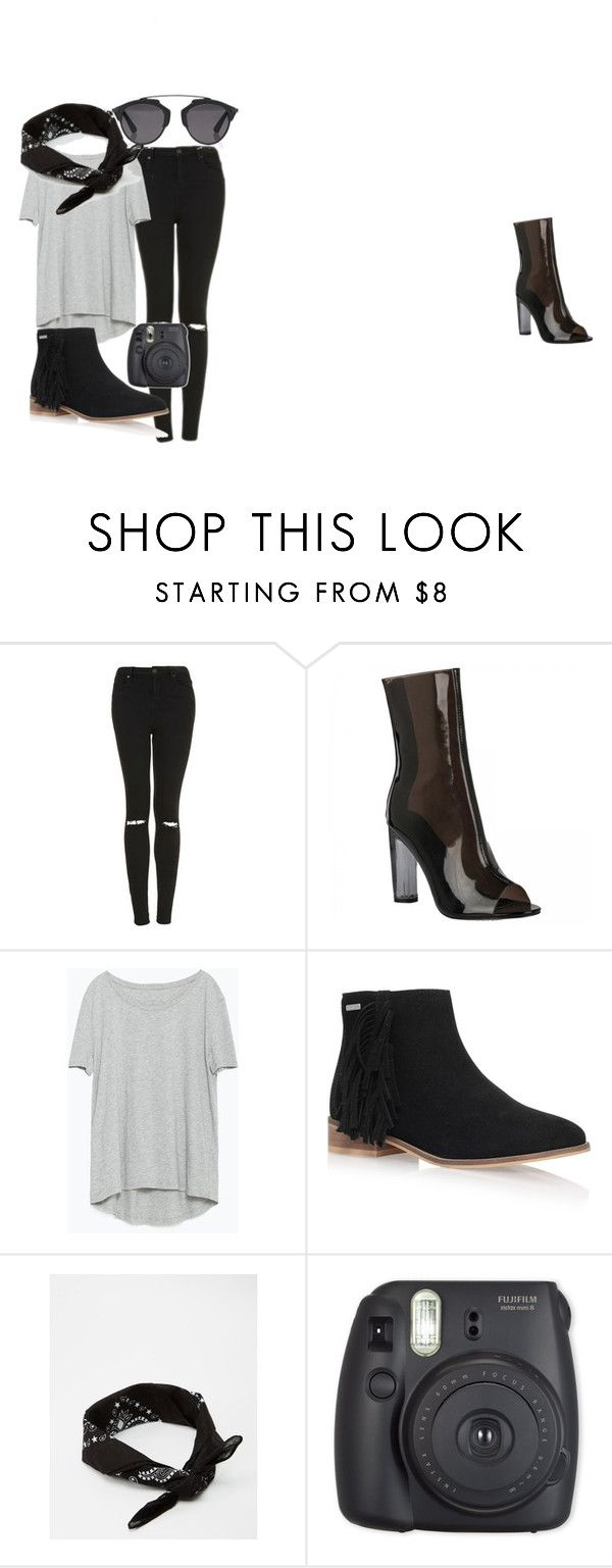 Relaxed Boyish by clare-dufty-1 on Polyvore featuring Zara, Topshop, Firetrap, Christian Dior and ASOS