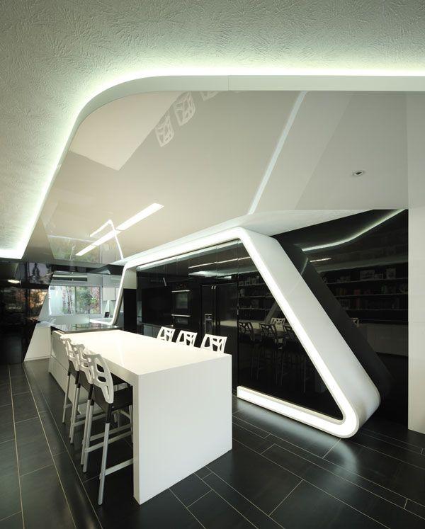 Unit 23 By Daarc U2013 Architects + Interiors. Office CeilingInternal DesignFuturistic  ...