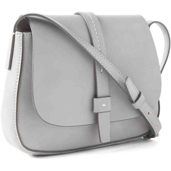 Gap Women Crossbody Saddle Bag ($40) ❤ liked on Polyvore featuring bags, handbags, shoulder bags, faux leather crossbody purse, faux leather purses, shoulder strap bags, vegan purses and vegan handbags