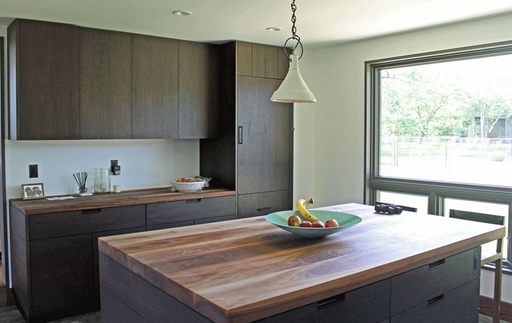 Overlay walnut cabinetry contemporary kitchen cabinets for Modern european kitchen cabinets