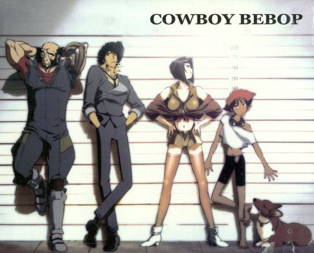 Sunrise studios Cowboy Bebop, Gundam, Armored Trooper Votoms, Crush Gear Turbo, The Vision of Escaflowne, Witch Hunter Robin, My-HiME, My-Otome, Code Geass: Lelouch of the Rebellion, Tiger & Bunny, Valvrave the Liberator