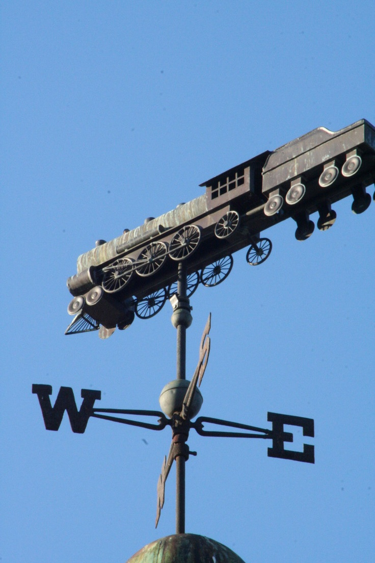 Weather Vane, Amtrak Station White River Junction by cudunn.deviantart.com on @deviantART