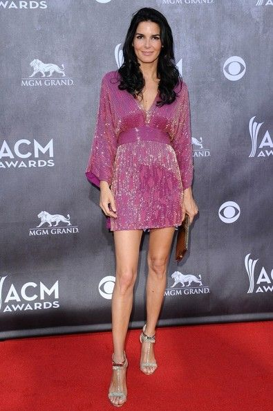 Angie Harmon - Academy of Country Music Awards 2014