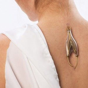 Naomi Kizhner's jewellery collection harvests  energy from the human body