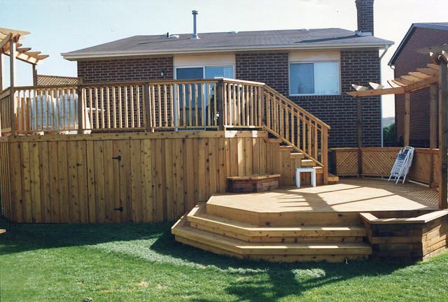 Two Tier Decks   Extended Two Tiered Deck