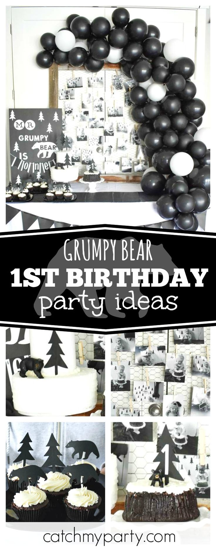 invitation words forst birthday party%0A  st Birthday   Birthday   Grumpy Bear  st birthday party