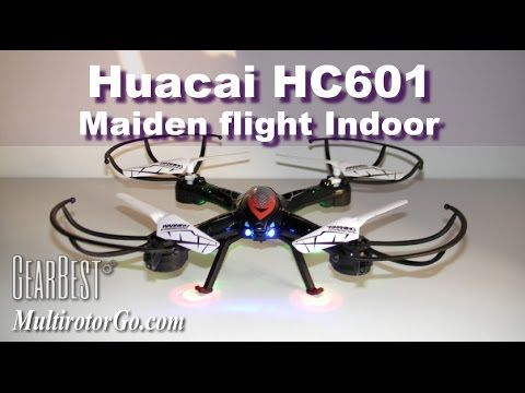 Thanks to GearBest to provide this quadcopter for review. This is the maiden flight, review will come, subscribe and stay tuned. You can get it here $35.13 http://shrsl.com/?~8w95 -- --