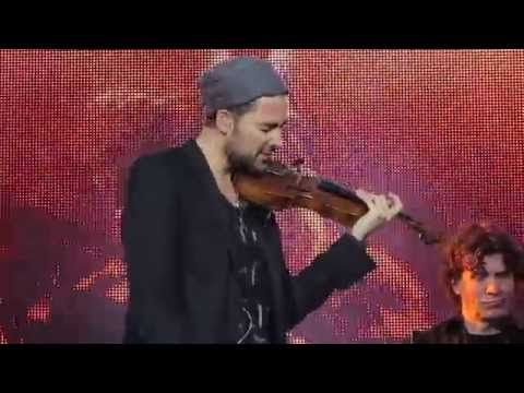David Garrett - Paradise - Coldplay - Berlin Waldbühne 23.06.15 - YouTube