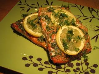 Garlic and Dill Roasted Salmon Recipe – The Lemon Bowl