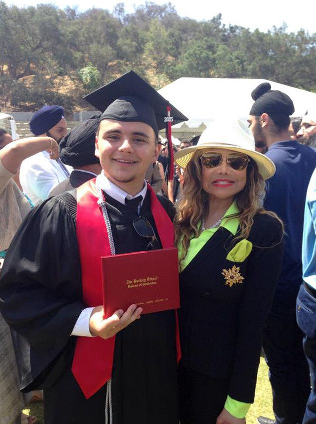 5-30-15: Prince Jackson, Michael Jackson's Son, Graduates High School—See His Family's Sweet Pics and Messages!  LaToya Jackson, Prince Jackson, Twitter